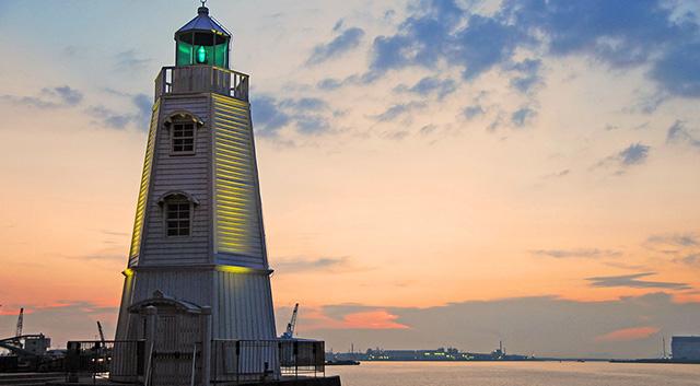 Former Sakai lighthouse